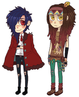 Dmmd chibi set 2 by DiniZee