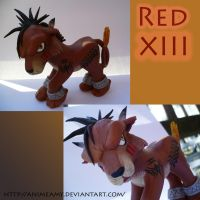 Red XIII Final Fantasy VII by AnimeAmy