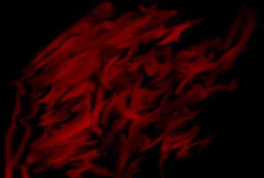 smudge thing - luxuriant red by free-zero