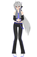 Project Diva Arcade Future Tone Default Haku by Luke-Flame