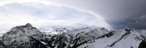 The Alps - What a View! by HarlekinKid