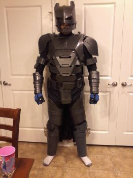 Batman Mech Suit Cosplay 1st test fit by jronk13