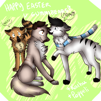 Happy easter! by meokami