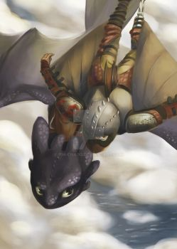 How to Train Your Dragon 2 by chi-charo