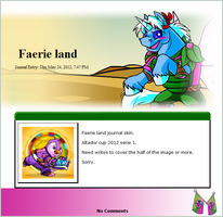 Faerie land S1 2012 (journal skin) by DepaX3x