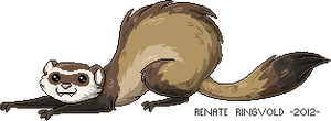 Pixel Ferret by Renathory