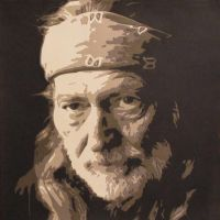Willie Nelson by Papergizmo