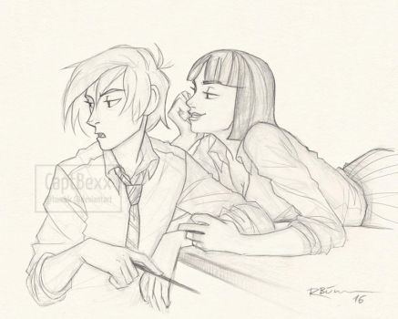 Draco and Pansy by CaptBexx