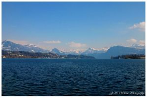 Lake Lucerne by jwstarbuck09