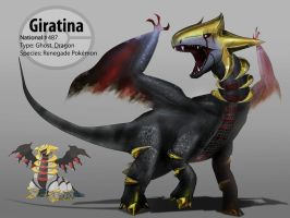 Giratina (Pokemon) by justin485