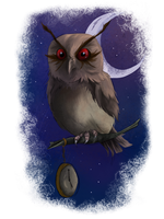 speedpaint hoothoot by Temerain