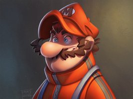 Super Mario by Javas