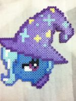 -Perler- The Great And Powerful Trixie by OtakuLuka