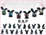 B.A.P Charms by FlyingPandaGirl