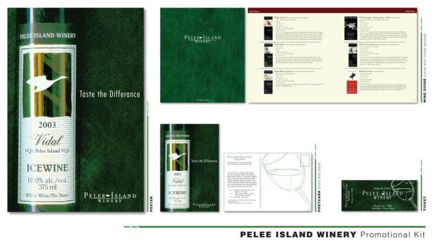 Pelee Island Winery Promo Kit by piratewench831