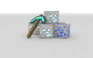 Minecraft Wallpaper by JoeWithers