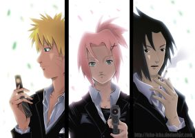 Team 7 - Ready? by icha-icha