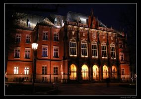 Night in Cracow - Collegium... by Lady-CaT