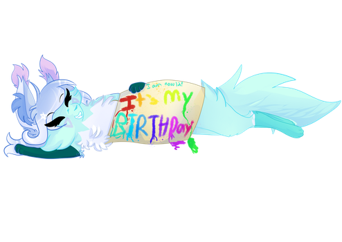 ITS MAI BIRTHDAY!!! by Coralyptus