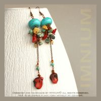 Enchilada earrings by IMNIUM