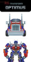 OPTIMUS Transform animation by zgul-osr1113