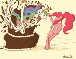 ...Or Maybe We Shouldn't Trust Floor Cake by EvilScribbles