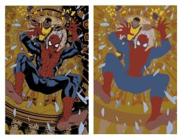 Spiderman Flats by alexasrosa