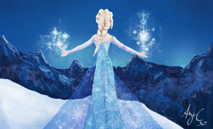 The Cold Never Bothered Me Anyway... by Pondd