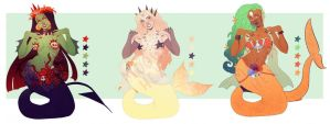Mermaid Adopts OPEN by Mo0gs