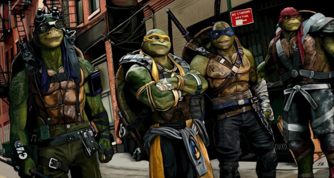 Teenage Mutant Ninja Turtles 2 -Out of the Shadows by SoulStryder210