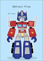 Optimus Prime by fuish