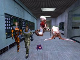 Half Life 1 Beta Characters by GlitchyProductions