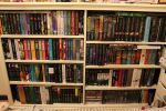 Bookcase - Rearranged with More Space by Shadows-r-Light