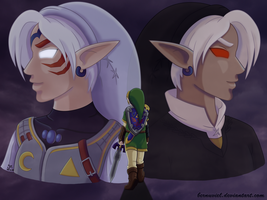 LoZ: The Dark Side by Bernuviel