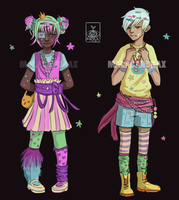 Reduced- Decora adopts!! [CLOSED] by Malacandrax