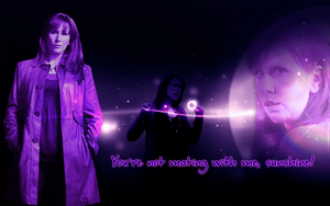 Donna Noble widescreen wallpaper by Leda74