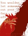 Cut Your Face Off by chaifox