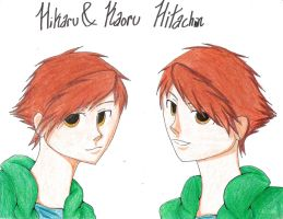 Hitachiin twins by EdwardElric141