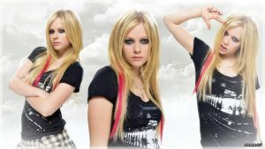 Wallpaper - Avril Lavigne $1$ by Przemyslav