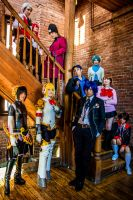 The Complete SEES Crew (Persona 3) by PINKIIxRia