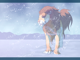 Cold of the Tundra by Whitelupine