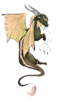 [Flight Rising commission] Ismene by Fillyflight