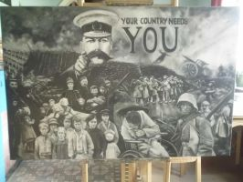 YOUR COUNTRY NEEDS YOU...14 - 18 by lloxi