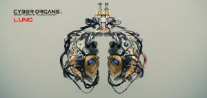 Artificial robotic internal organ - steel lungs wi by Ociacia