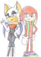 Rosie and Claw by IndigoPurpure