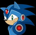 Megaman Sonic by TheWax