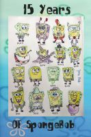 15 years of SpongeBob by TacomanZKD