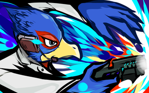 Falco | Blaster Shot by ishmam