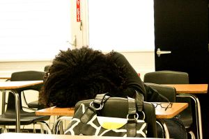 Sleeping In Class by aflores167