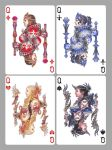 Playing Cards:  Queens by Wen-M